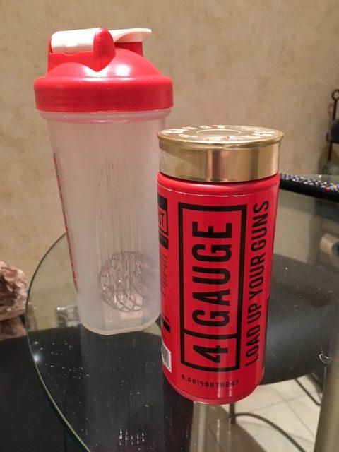 4 gauge top pre-workout powder