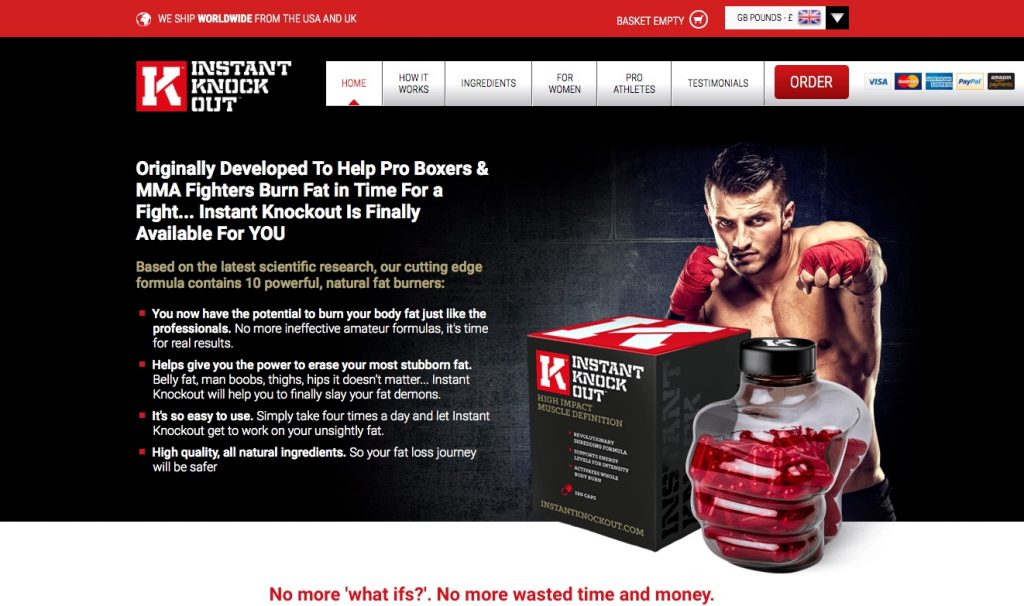 instant knockout website