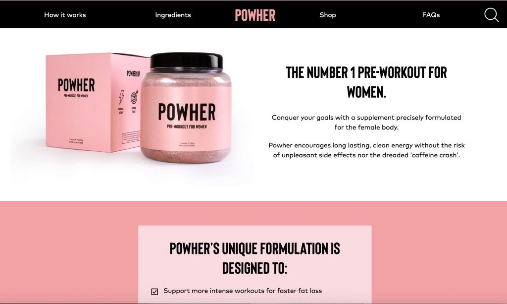 powher official website