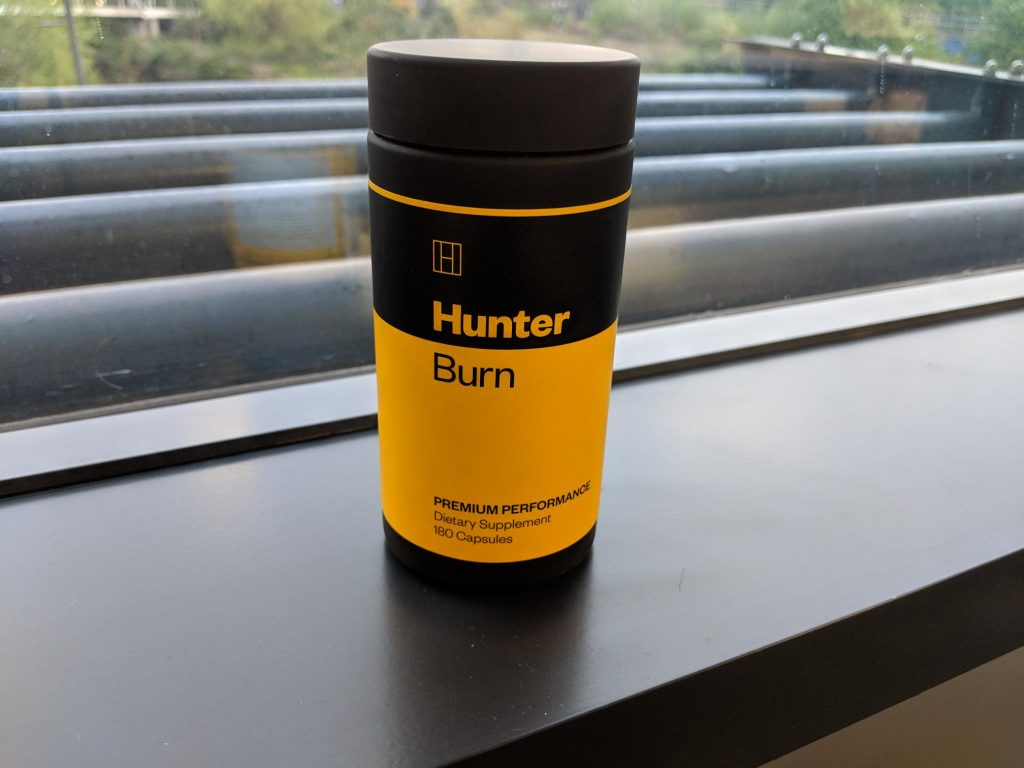 buy hunter BURN fat burner