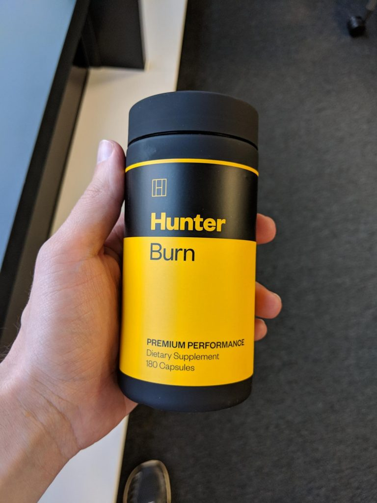 hunter BURN fat burner reviews